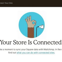 mailchimp and square
